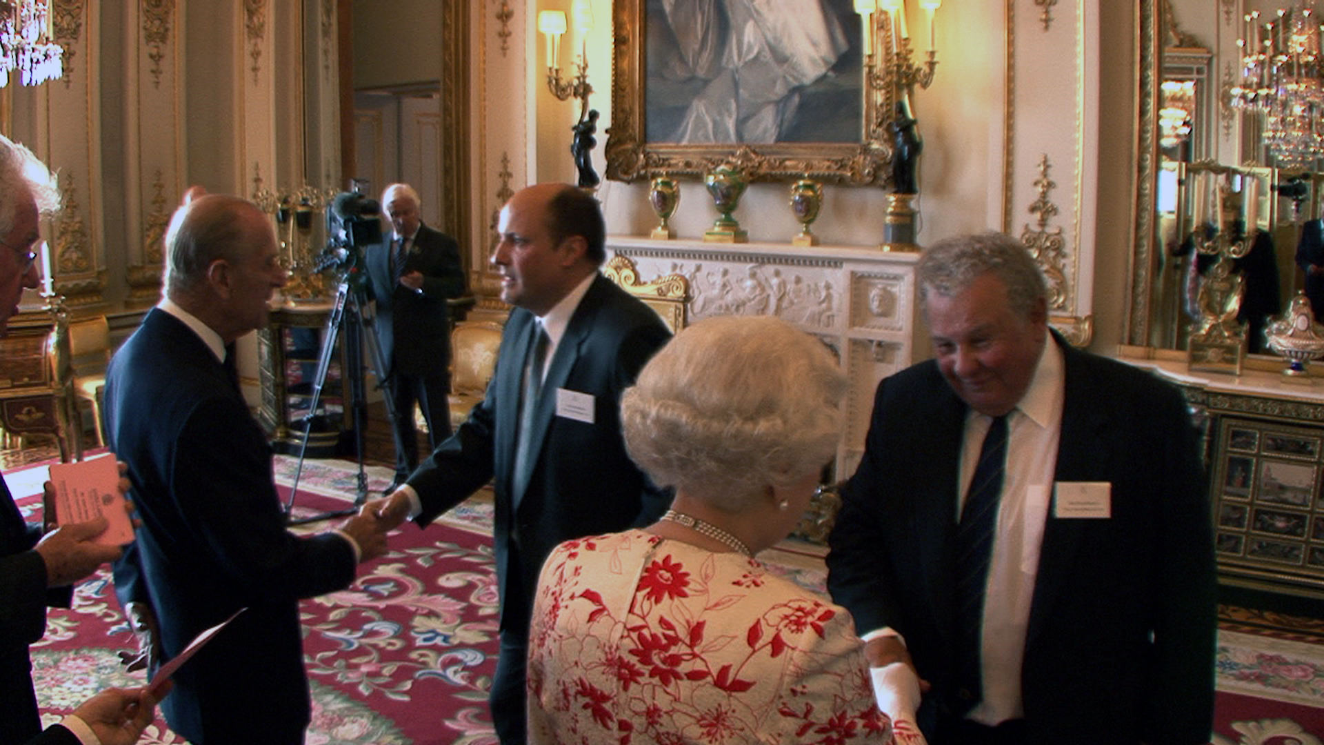Colin and Adam meet The Queen and The Duke of Edinburgh